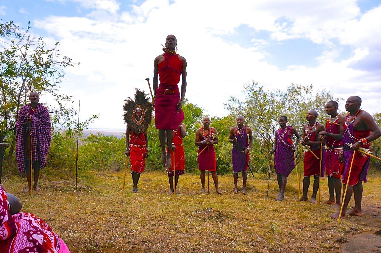 マサイ族が祝福!ケニアでマサイ式ウェディング(前編)   LOVETABI - Part 2