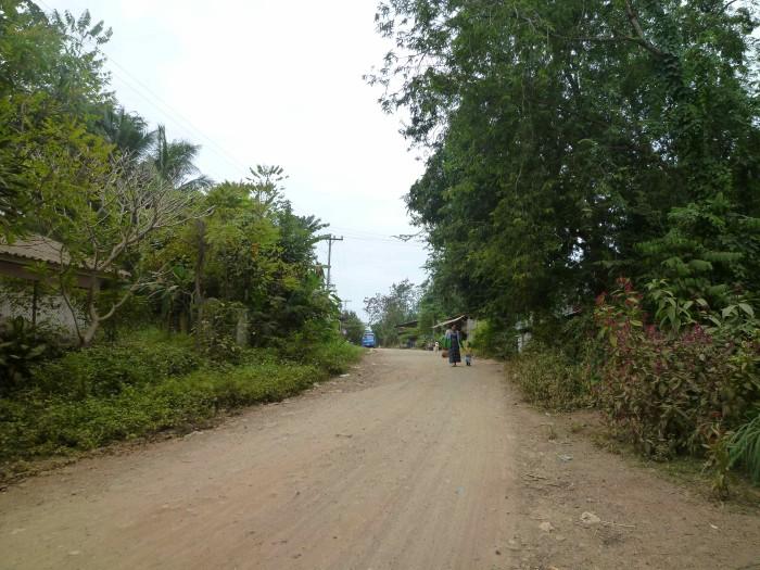 ルアンバパーン郊外